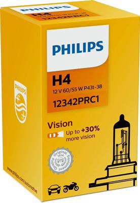 PHILIPS ZIAROVKA 12V H4 60/55W PHILIPS PREMIUM 12342PRC1
