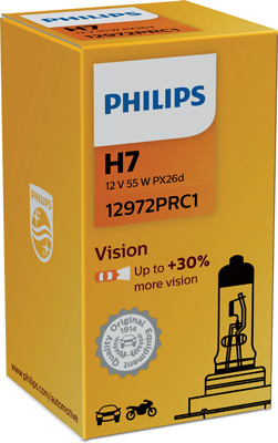 PHILIPS ZIAROVKA 12V H7 +30% PHILIPS 12972PRC1