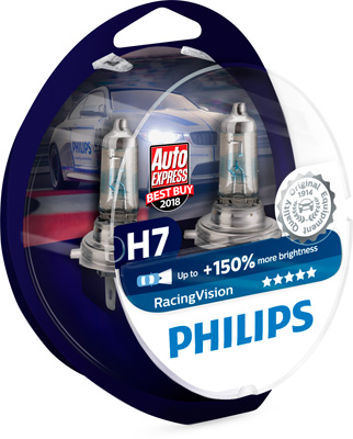 PHILIPS ZIAROVKA H7 12V 55W PHILIPS RACING VISION 12972RVS2