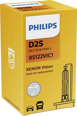 PHILIPS ZIAROVKA 12V D2S PHILIPS Xenon Vision 85122VIC1